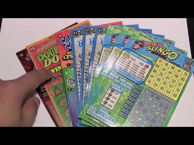 $33 Instant Lottery Ticket Scratch Off Challenge
