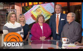 Tennessee Couple Claim Powerball Winning Jackpot | TODAY